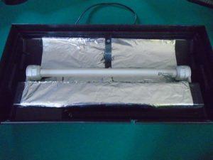 papier alu sous le néon de l'enceinte de croissance 54L