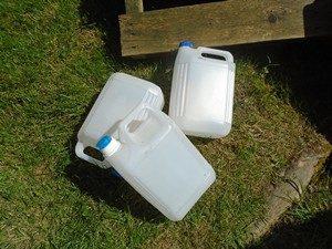 bidon de 5 litres pour stockage du purin d'ortie