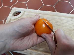 éplucher les tomates 3