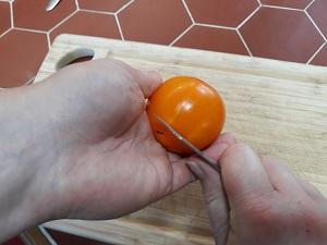 éplucher les tomates 6