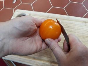 éplucher les tomates 8