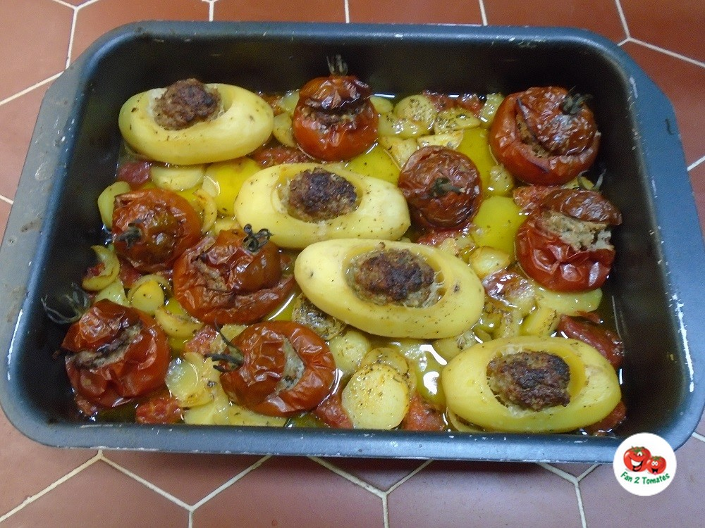 tomates prince noir farcies