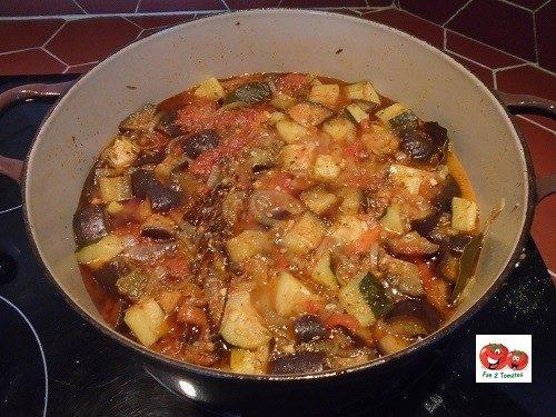 ratatouille à la tomate moravsky div