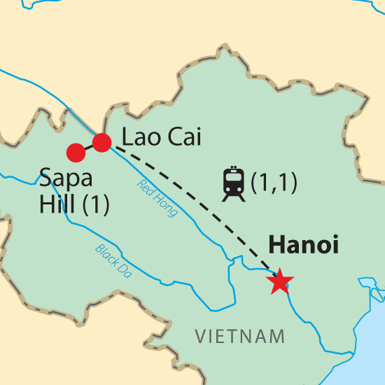 hanoi sapa pour légumes vietnamiens