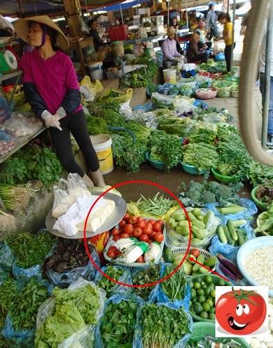 marché sapa pour légumes vietnamiens