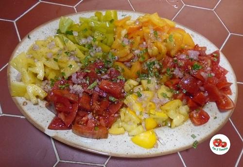 salade 5 tomates pour saison des tomates