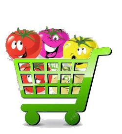 panier pour boutique de graines de tomates