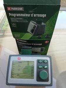 programmateur pour installer une système d'arrosage
