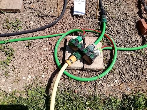 distributeur eau pour installer un système d'arrosage