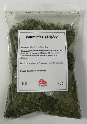 sachet consoude pour purins végétaux 75g