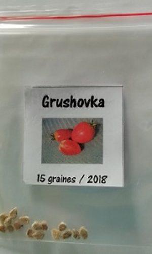sachet de graine grushovka